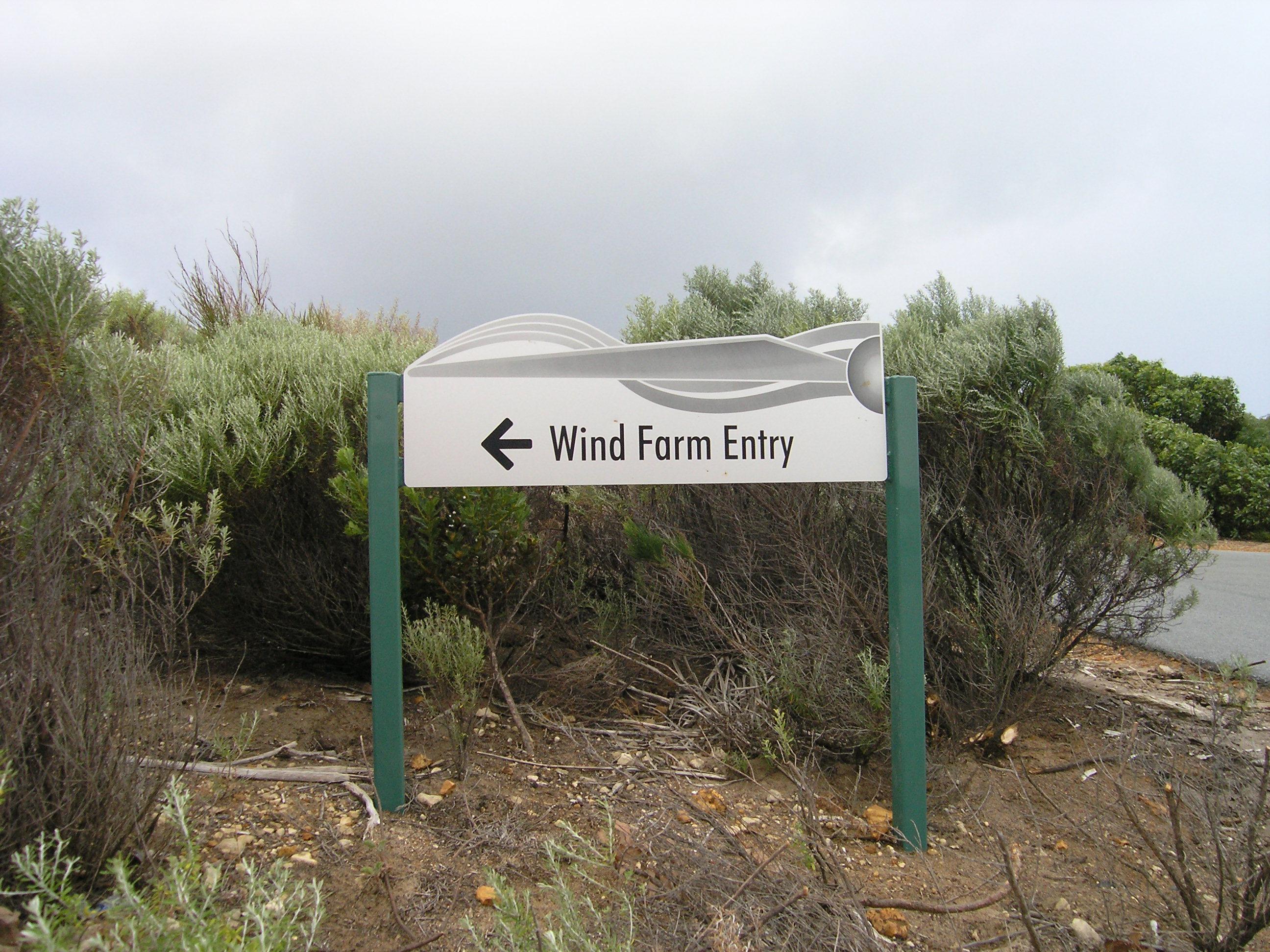 wind farm entry