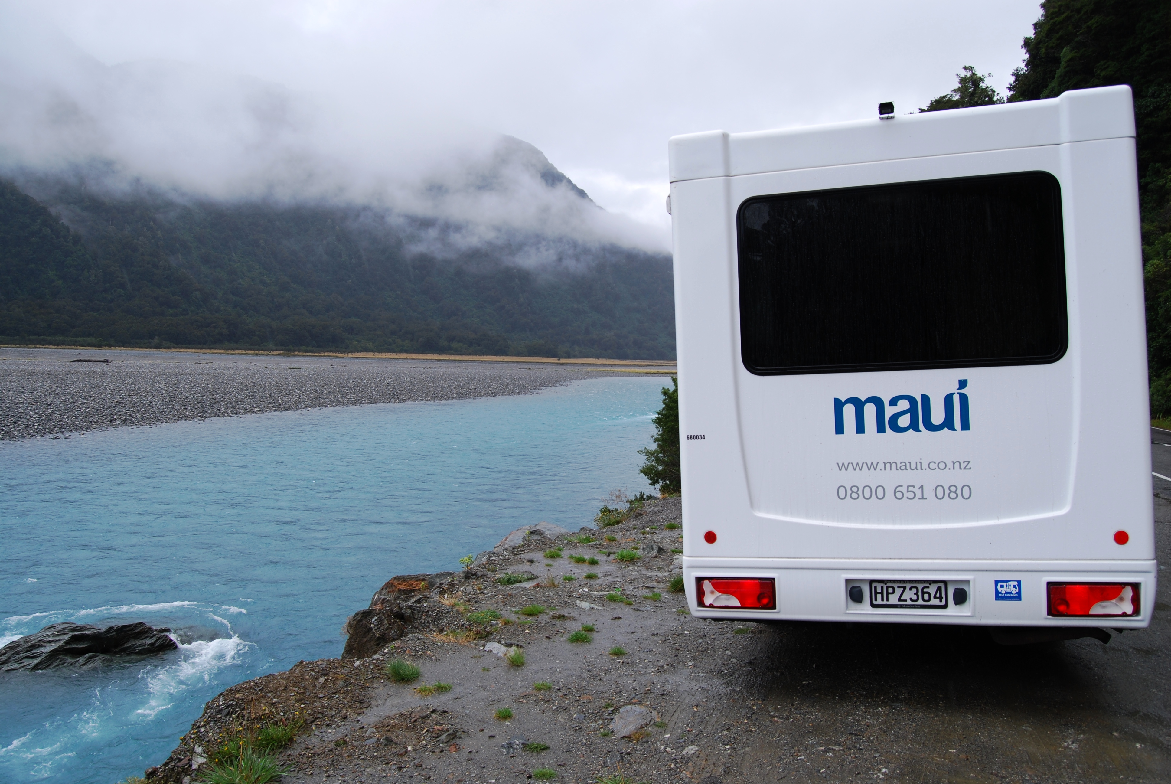 up-close to nature with a campervan