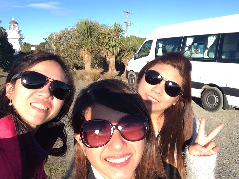 a Campervan with Panny, Caitlin and Christy