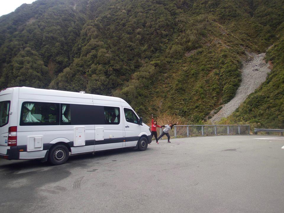 Britz Venturer Plus at Arthur's Pass