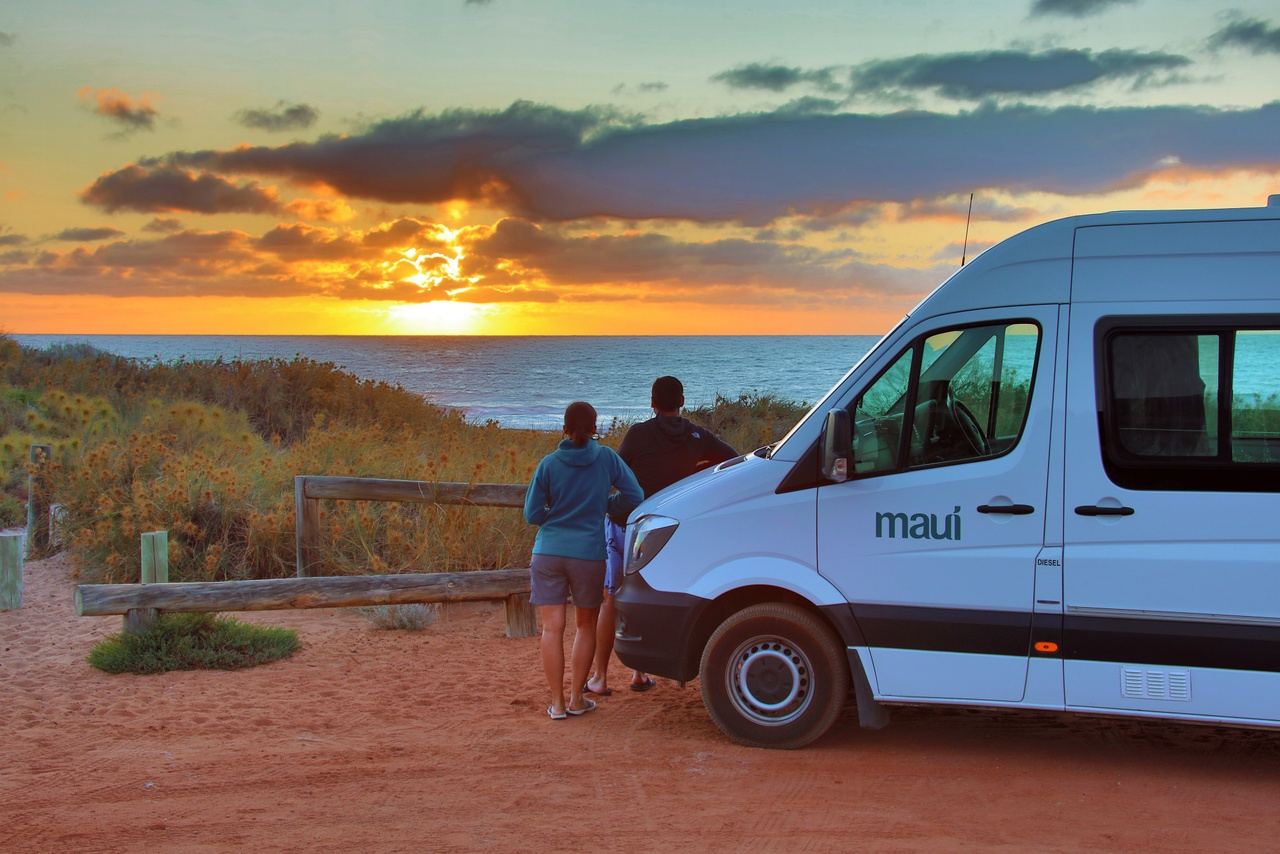 Maui Ultima Plus at Western Australia Filip Kulisev sunset